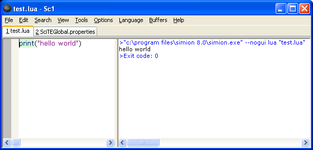 Editing SIMION Text Files — SIMION 2019 Supplemental